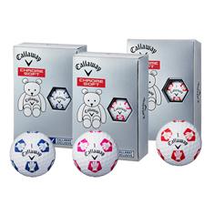 캘러웨이 크롬소프트 베어 트루비스 (CHROME SOFT BEAR TRUVIS) 하프더즌 골프볼